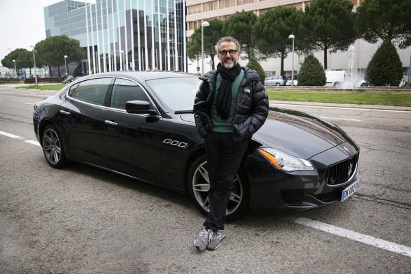 Massimo Bottura & 2016 Maserati Quattroporte © Fiat Chrysler Automobiles N.V.