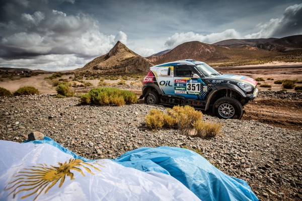 2016 Dakar, Nazareno Lopez (ARG), Sergio Lafuente (URU), MINI ALL4 Racing - X-raid Team 351 © BMW AG