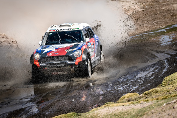 2016 Dakar, Boris Garafulic (CHL), Filipe Palmeiro (POR), MINI ALL4 Racing - X-raid Team 313 © BMW AG