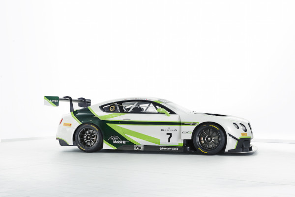 The 2016 Bentley Team M-Sport Continental GT3 © Bentley Motors Ltd.