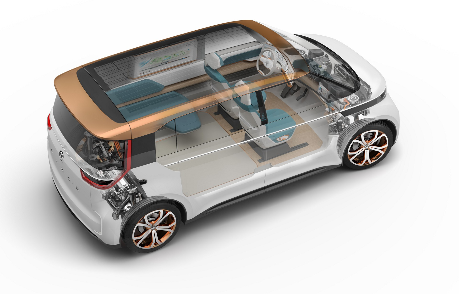 BUDD-e Concept © Volkswagen AG