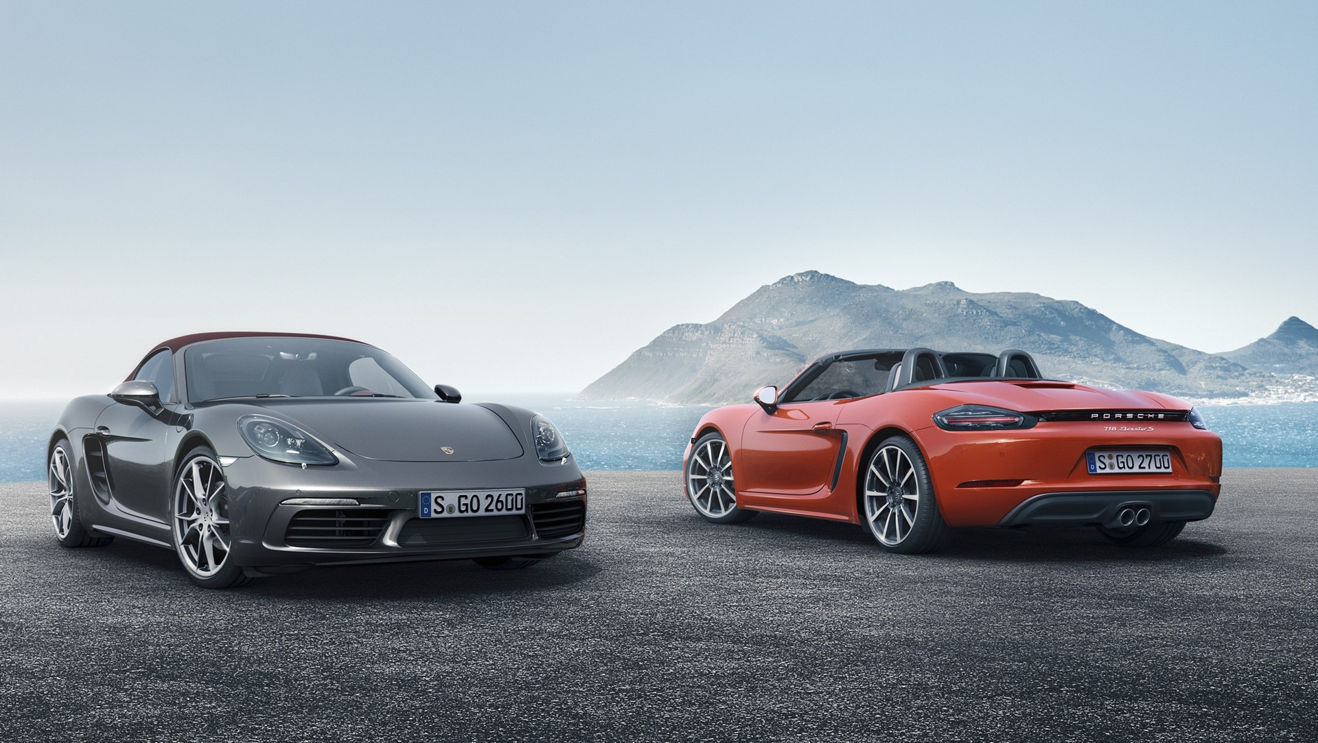718 Boxster, 718 Boxster S © Dr. Ing. h.c. F. Porsche AG