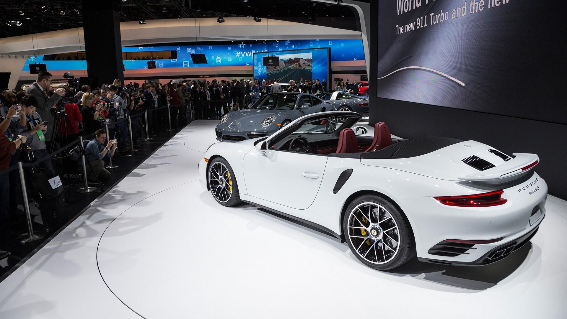 porsche in detroit  the new 911 turbo