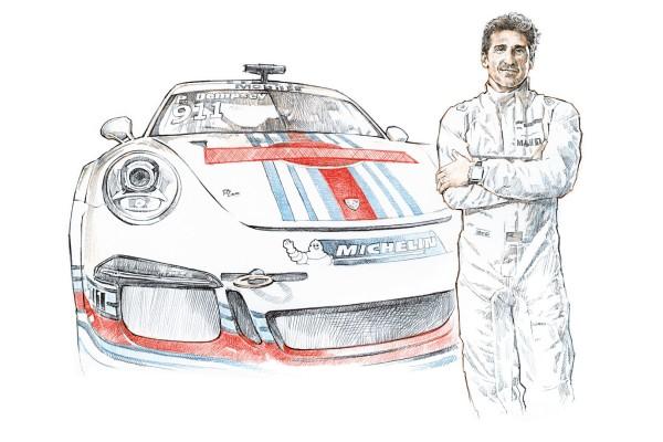 Patrick Dempsey © Dr. Ing. h.c. F. Porsche AG