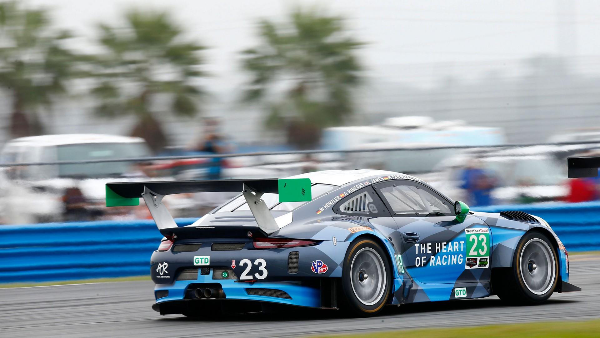 Porsche 911 GT3 R, Daytona, IMSA WeatherTech SportsCar Championship © Dr. Ing. h.c. F. Porsche AG