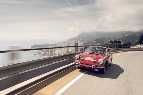 Porsche Monte Carlo 911, 1965, Côte d'Azur, France, 2015 © Dr. Ing. h.c. F. Porsche AG