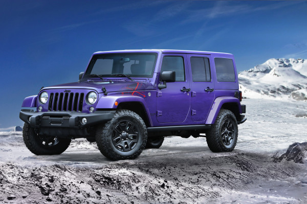 2016 Jeep Wrangler © FIAT Group