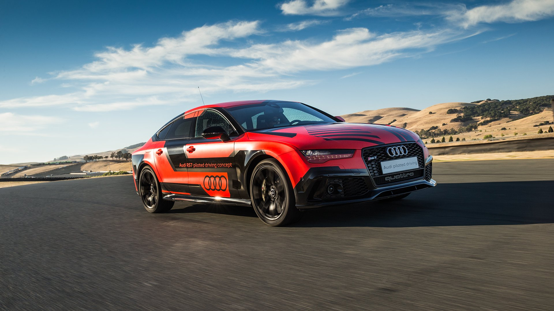 Audi Self Driving Car Race Track