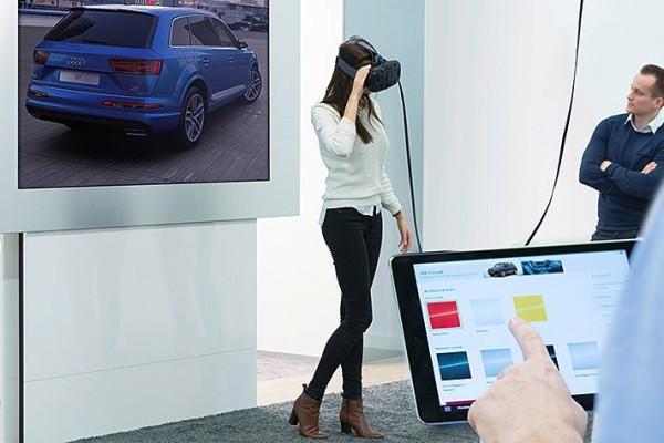 Audi VR experience © Volkswagen AG