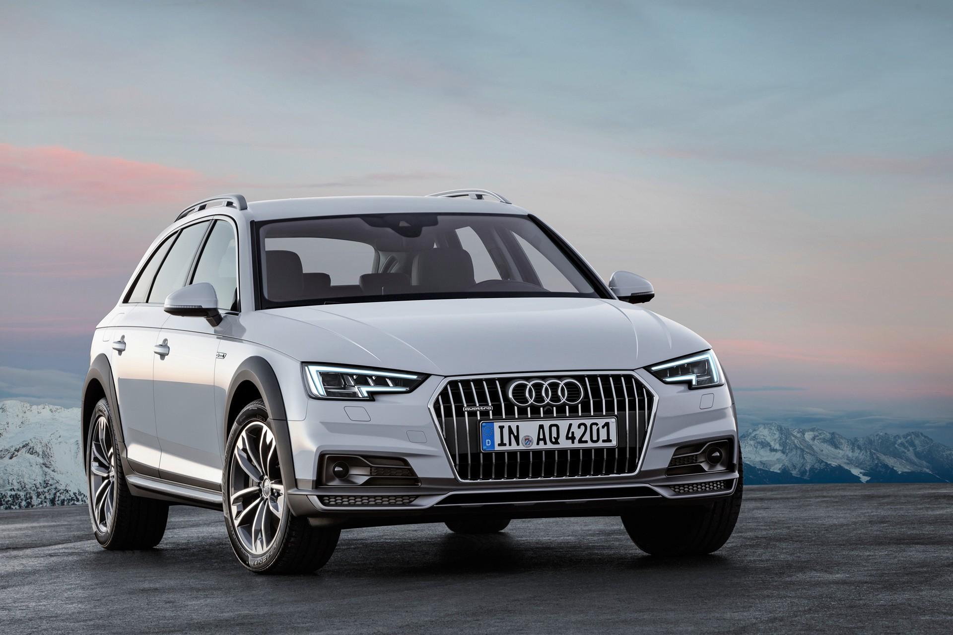 2017 Audi A4 allroad quattro © Volkswagen AG