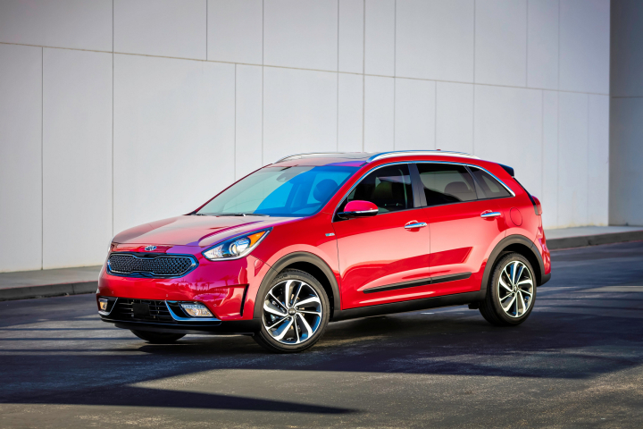 2017 Kia Niro Hybrid Preview
