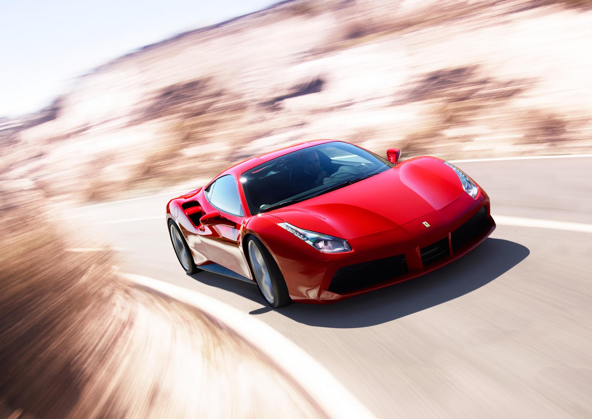 Ferrari 488GTB © Ferrari S.p.A.