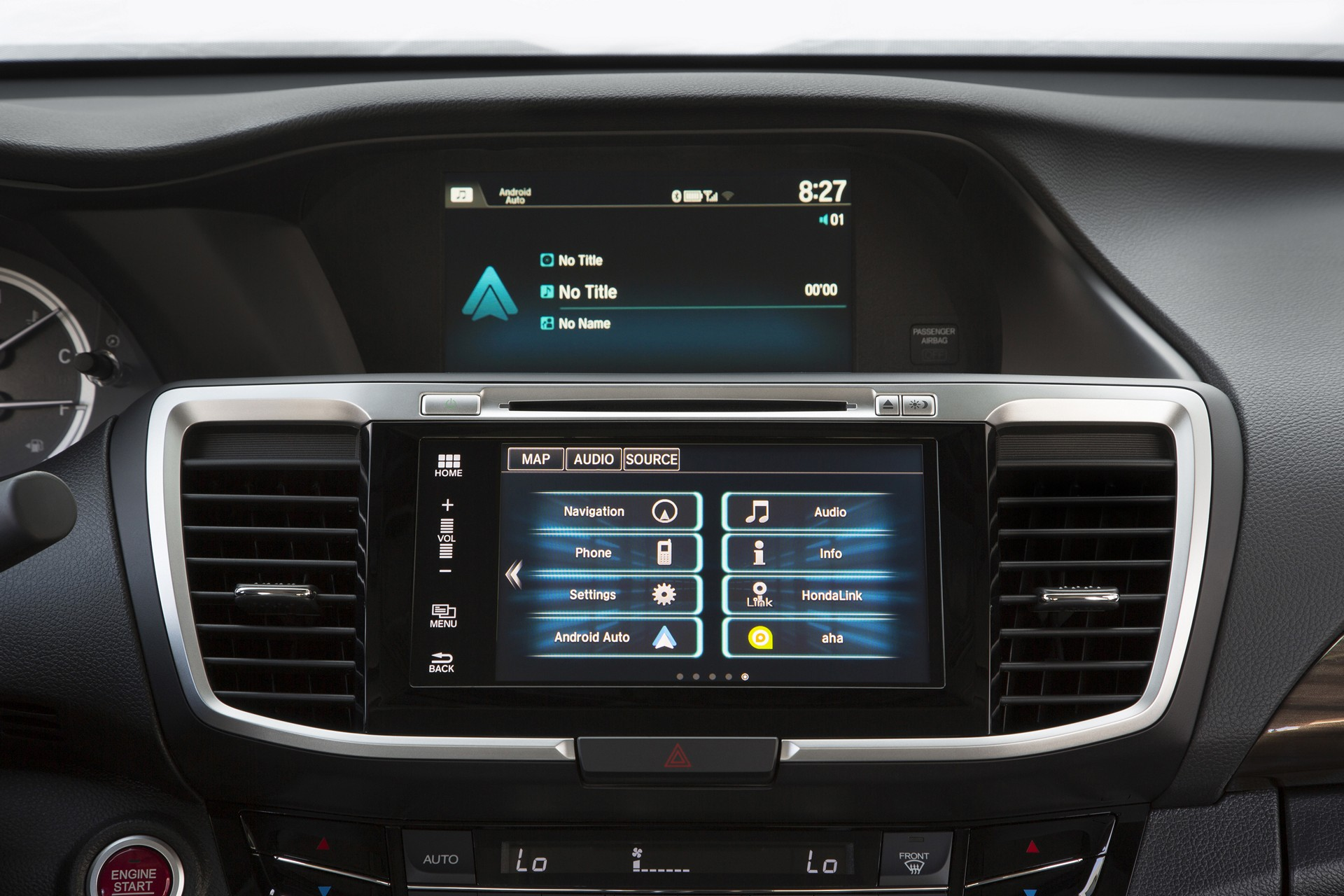 2016 Honda Accord with Android Auto © Honda Motor Co., Ltd.