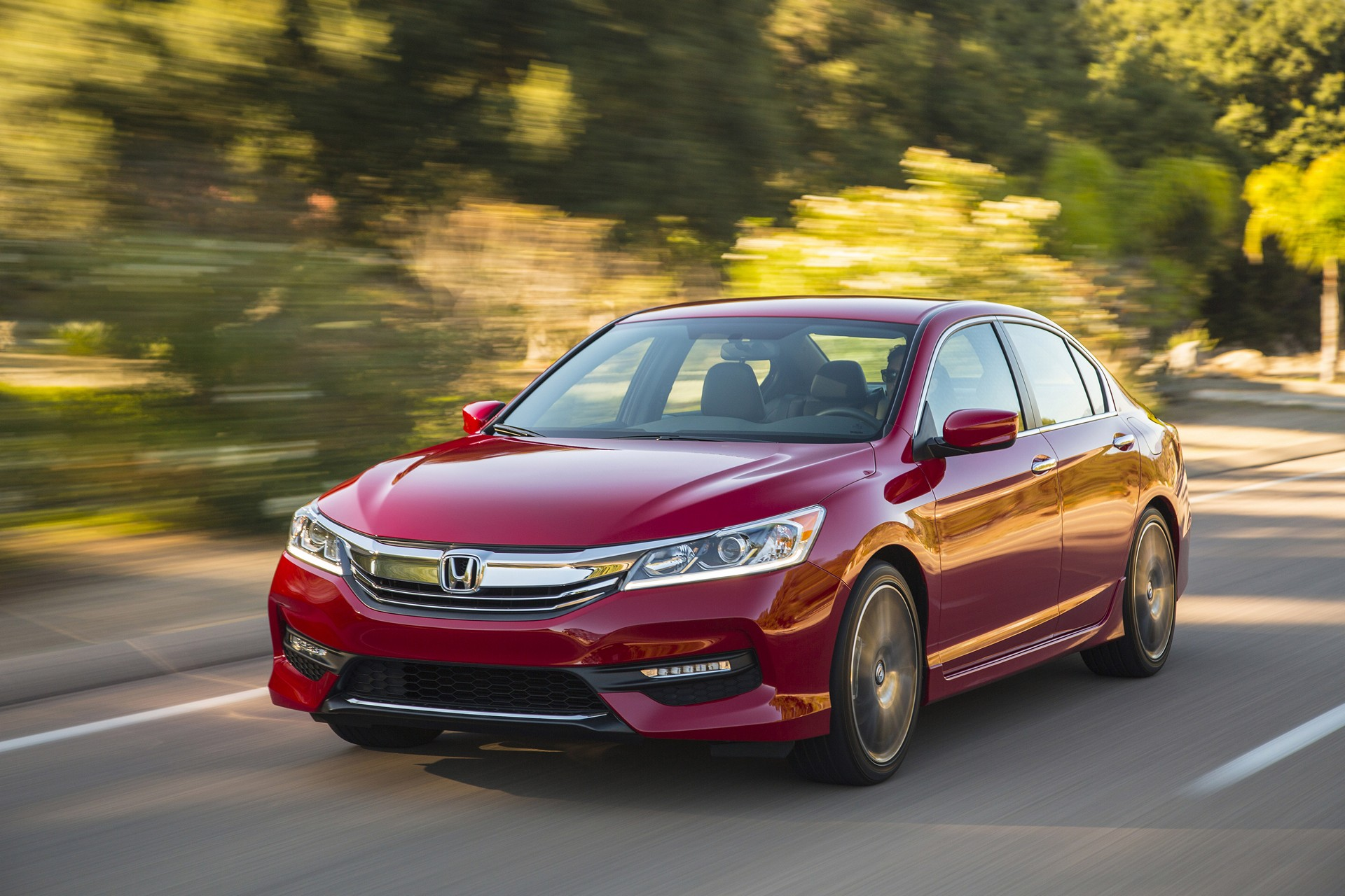 Marvelous 2016 Honda Accord Sedan © Honda Motor Co., Ltd.