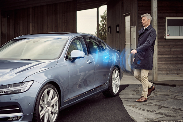 Volvo Cars' digital key © Zhejiang Geely Holding Group Co., Ltd