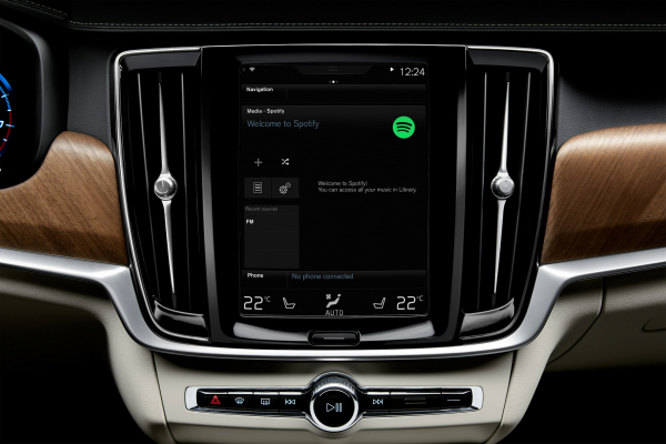 Volvo integrated Spotify app © Zhejiang Geely Holding Group Co., Ltd