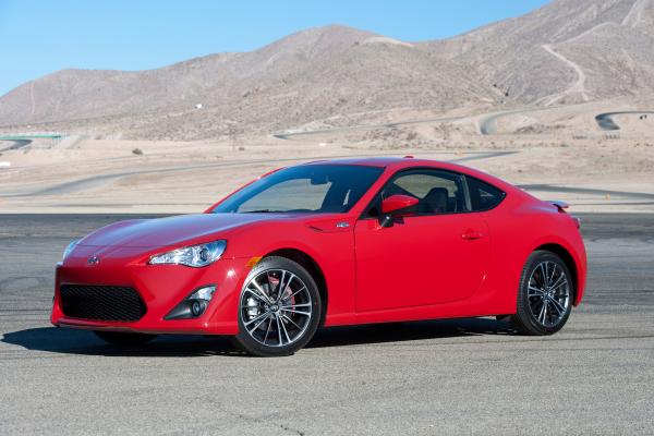 2016 Scion FR-S © Toyota Motor Corporation