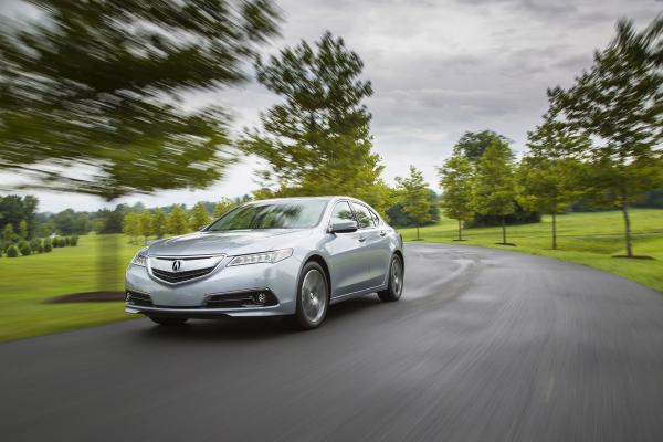 2016 Acura TLX © Honda Motor Co., Ltd.