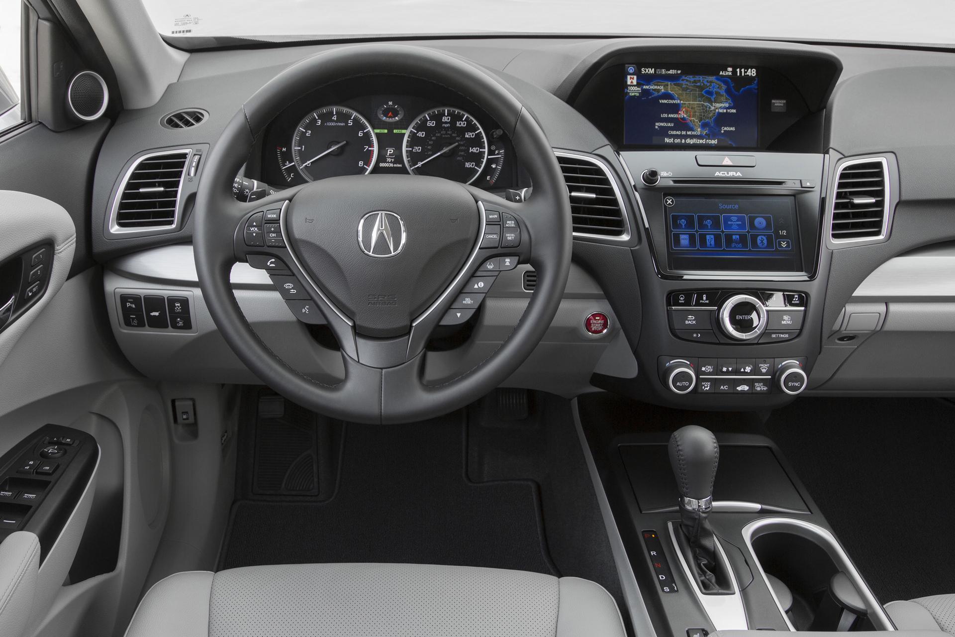 2016 Acura RDX © Honda Motor Co., Ltd.