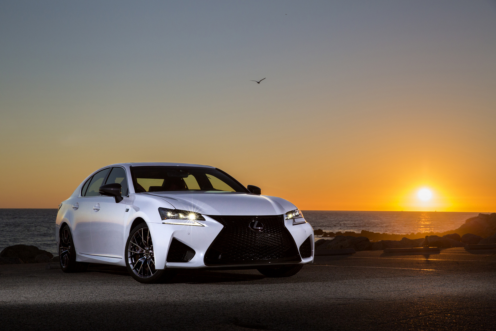 2016 Lexus GS F © Toyota Motor Corporation