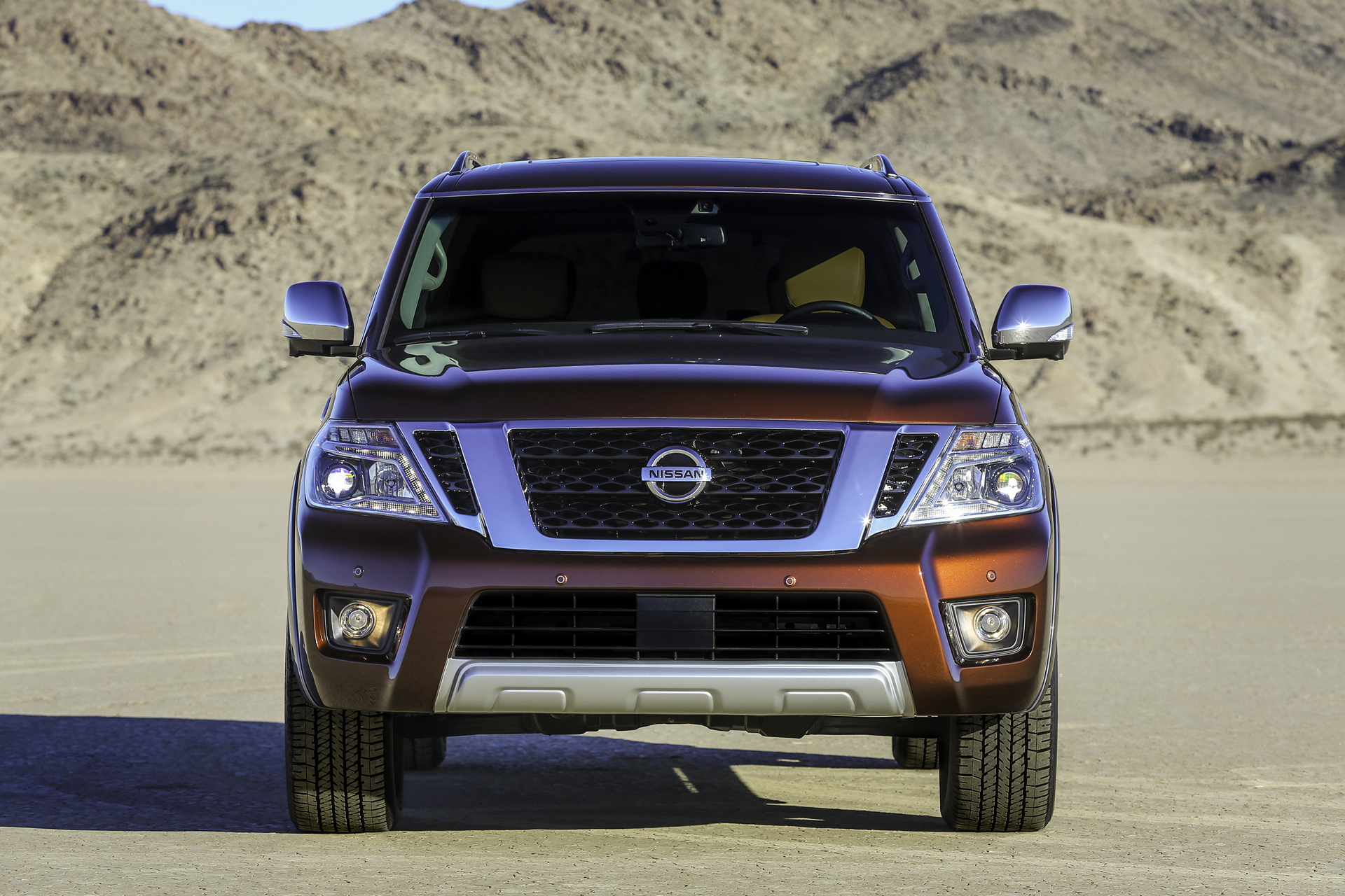 2017 Nissan Armada © Nissan Motor Co., Ltd.