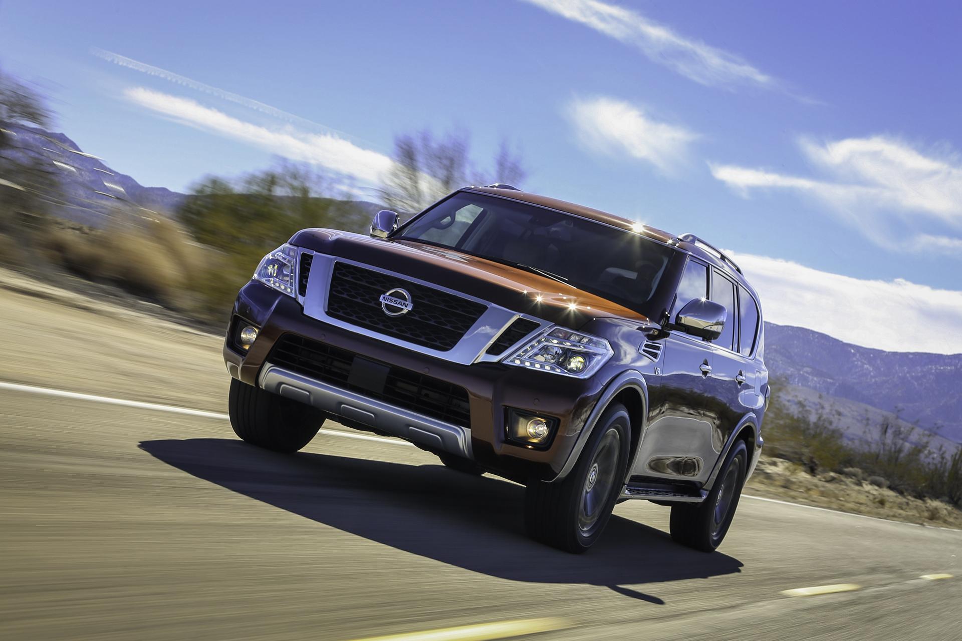 2017 Nissan Armada © Nissan Motor Co., Ltd.