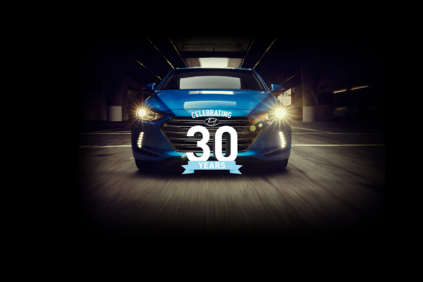 Hyundai Motor America Celebrates 30 Years in the United States © Hyundai Motor Company