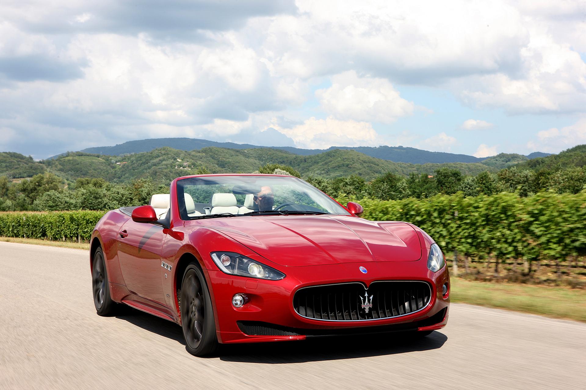 Maserati GranTurismo Convertible © Fiat Chrysler Automobiles N.V.