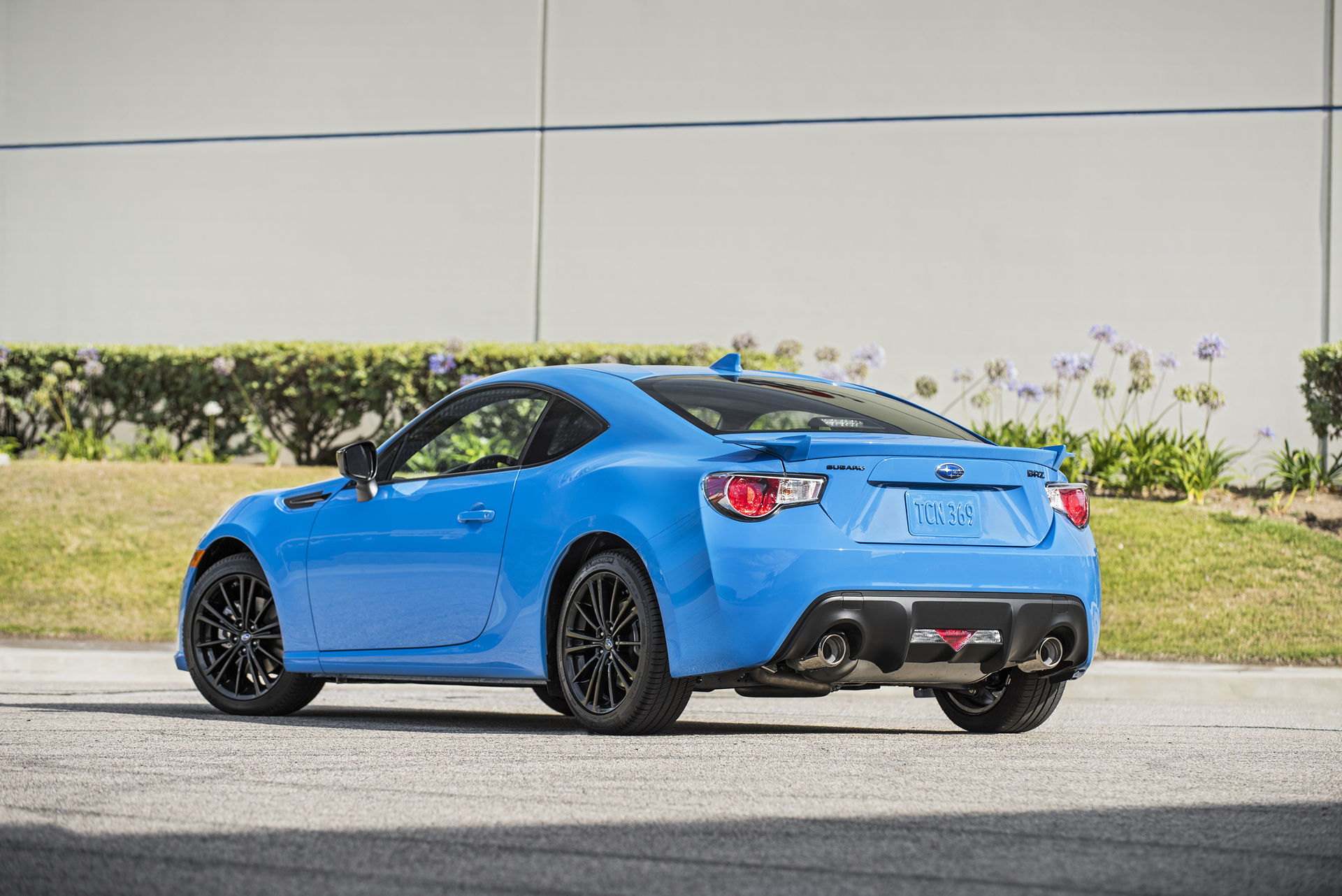 2016 Subaru BRZ Series.HyperBlue © Fuji Heavy Industries, Ltd.