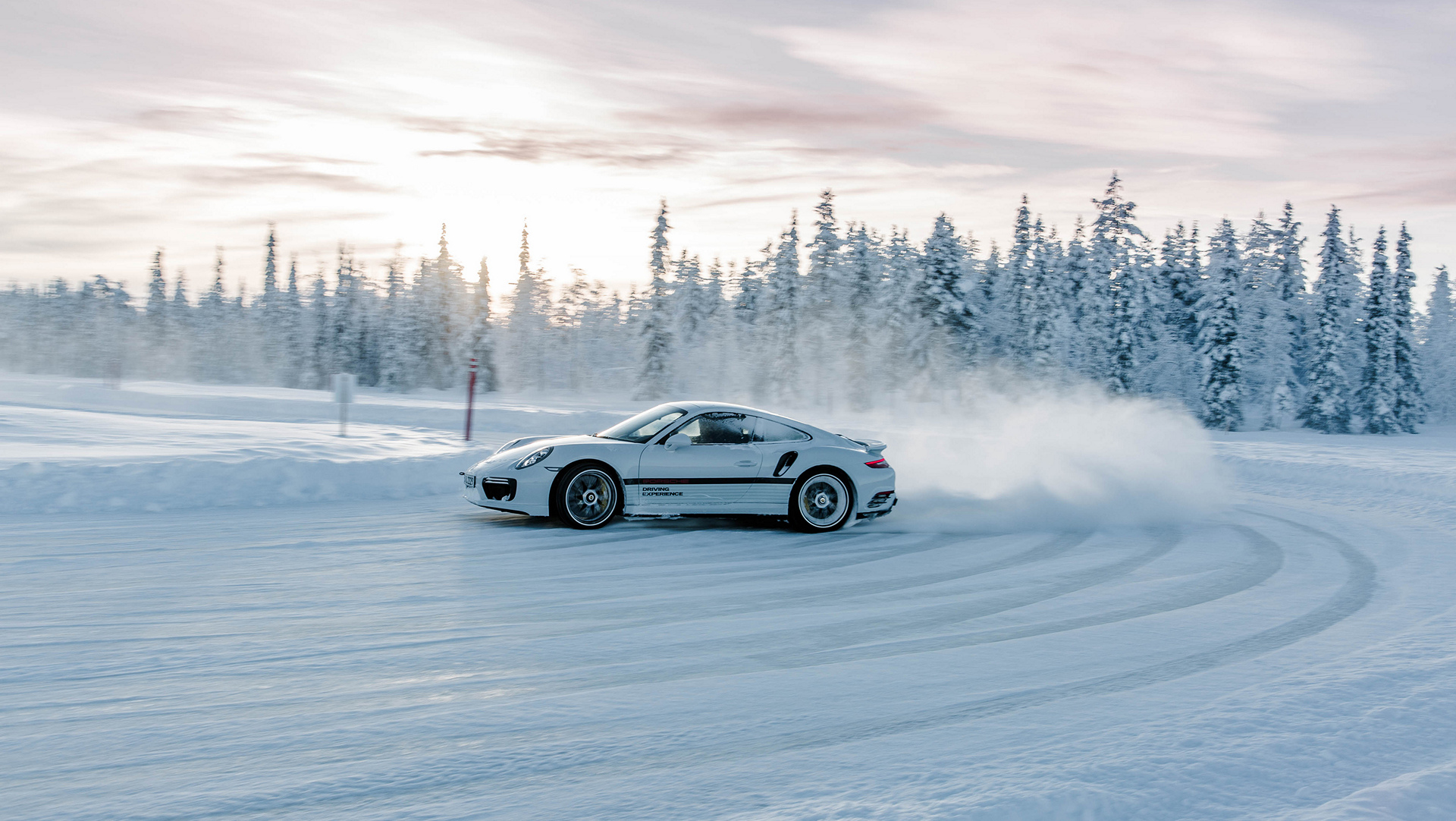 Ice Cold Driving Pleasure With Porsche Carrrs Auto Portal