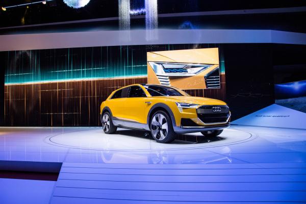 Audi h-tron quattro concept © Volkswagen AG