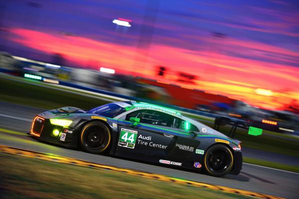 24h Daytona 2016 Audi R8 LMS #44 (Magnus Racing), Andy Lally/John Potter/René Rast/Marco Seefried © Volkswagen AG