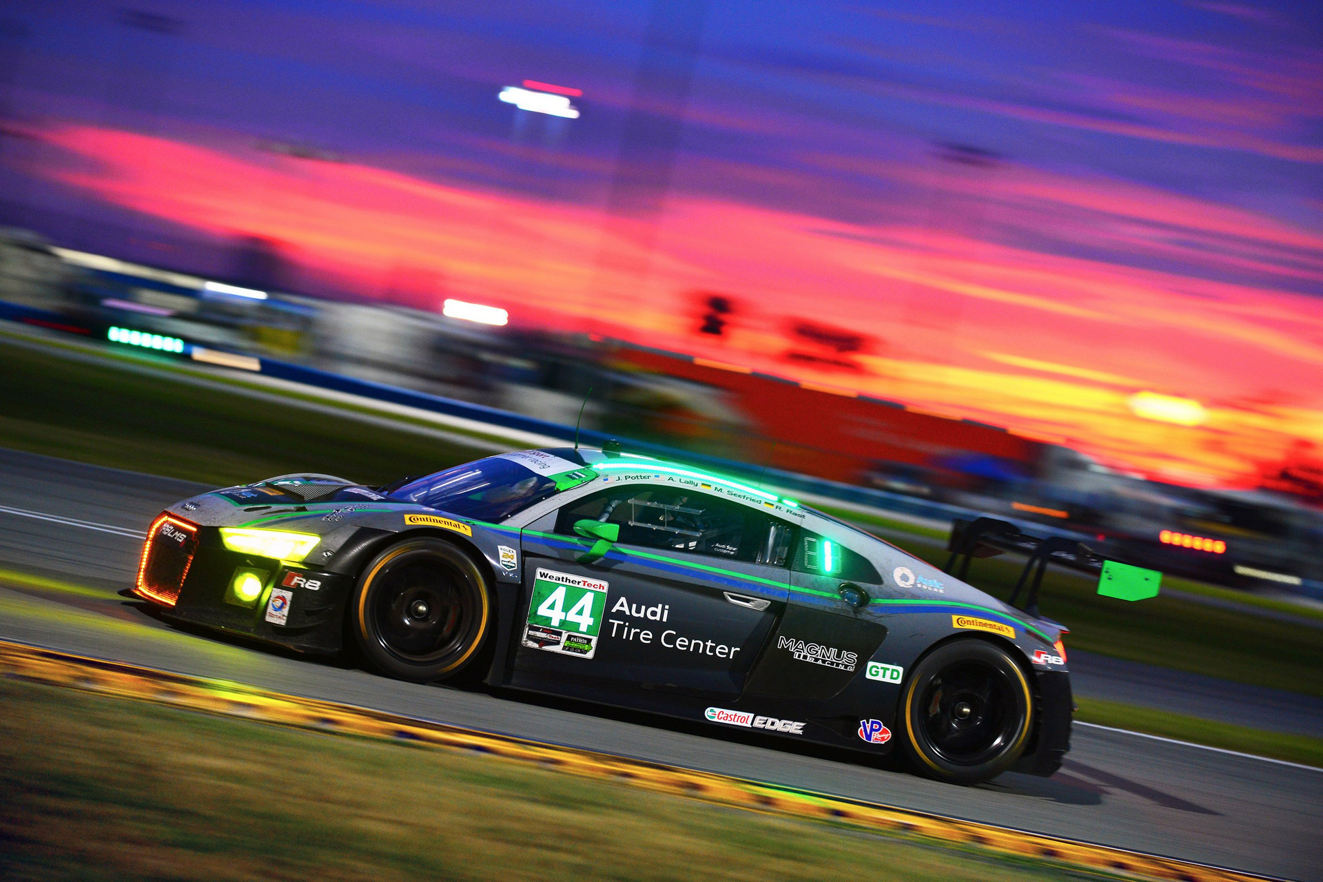 The Audi R8 LMS wins the 2016 Rolex 24 At Daytona in its US race debut - Carrrs Auto Portal