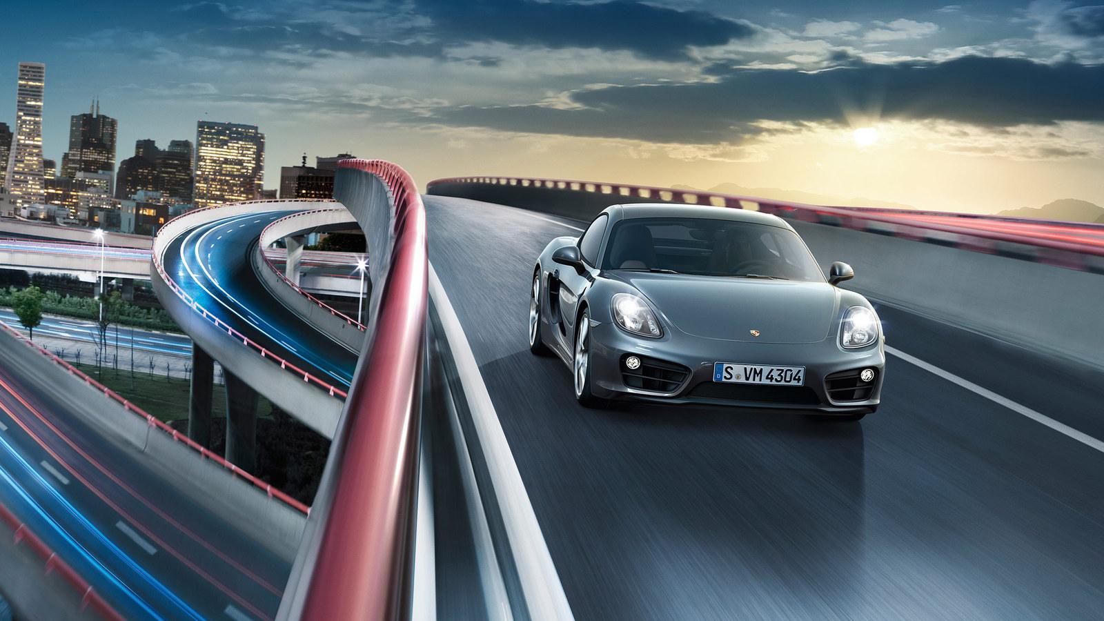 Porsche Cayman © Dr. Ing. h.c. F. Porsche AG