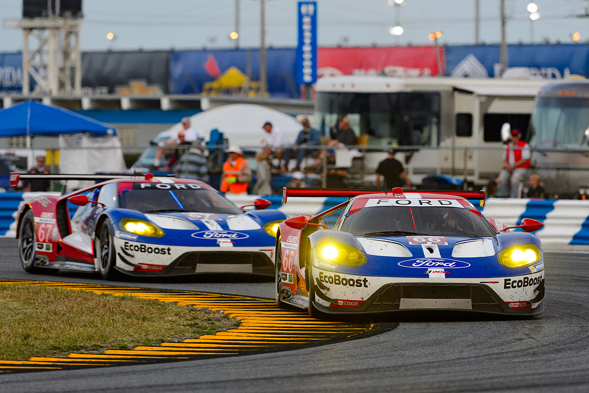 Ford GT global race debut at Rolex 24 At Daytona © Ford Motor Company