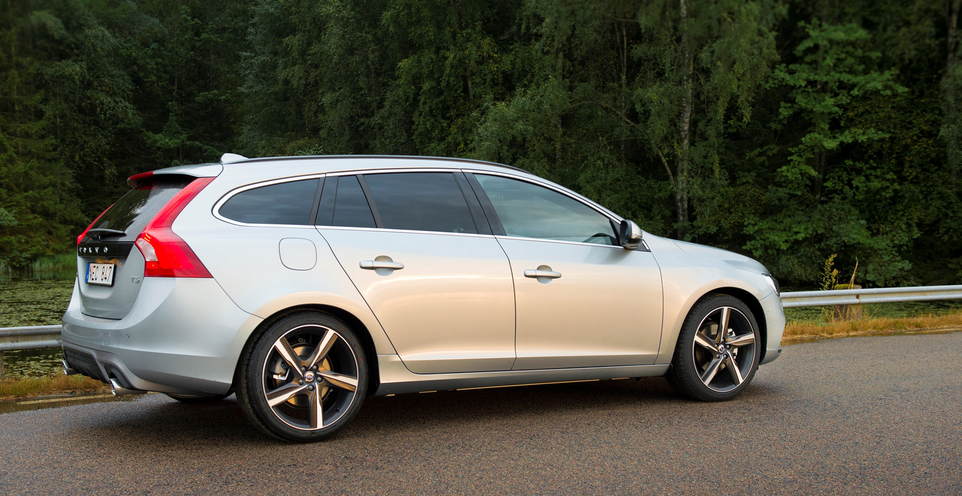 2016 Volvo V60 © Zhejiang Geely Holding Group Co., Ltd