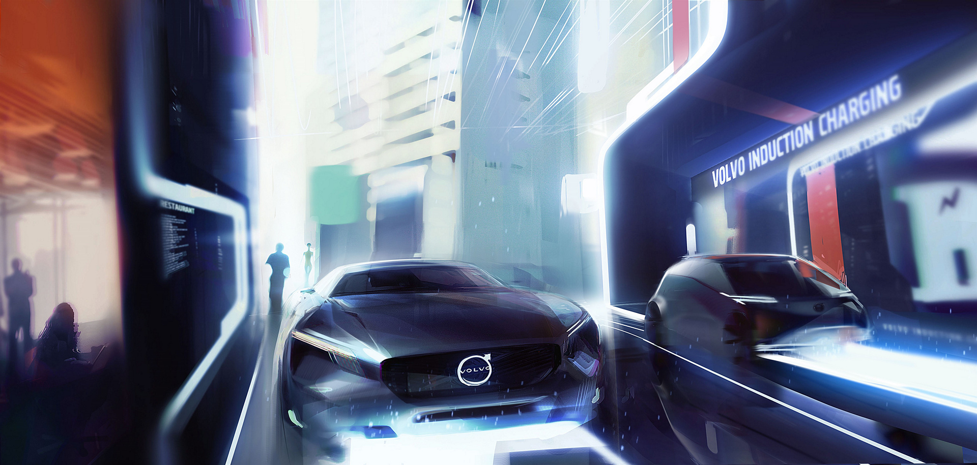 Volvo Cars' vision of an electric future © Zhejiang Geely Holding Group Co., Ltd