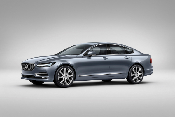 Volvo S90 Mussel Blue © Zhejiang Geely Holding Group Co., Ltd