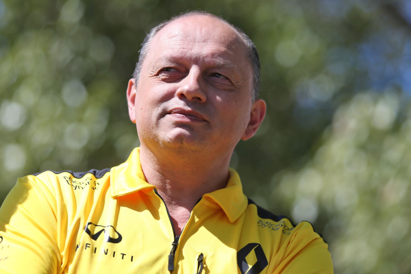 Renault Sport Formula One Team Director Frédéric Vasseur © Nissan Motor Co., Ltd.