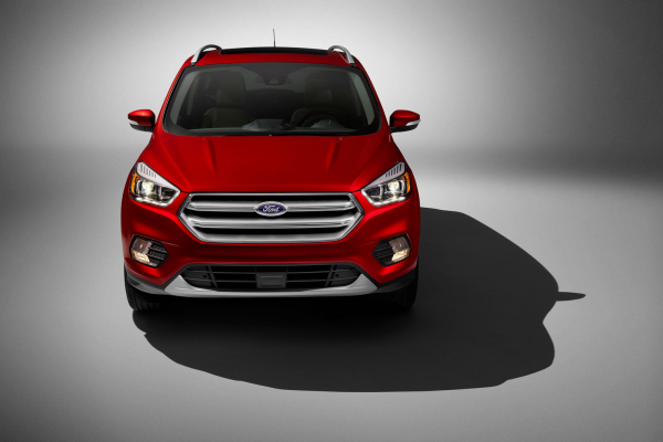 New Front End of 2017 Ford Escape Titanium © Ford Motor Company