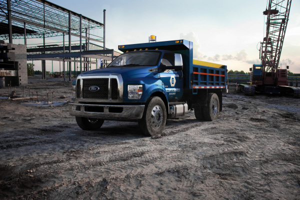 Ford F-650, F-750 © Ford Motor Company
