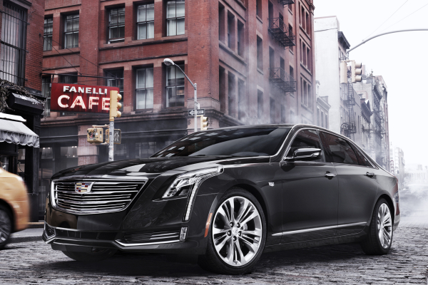 2016 Cadillac CT6 © General Motors