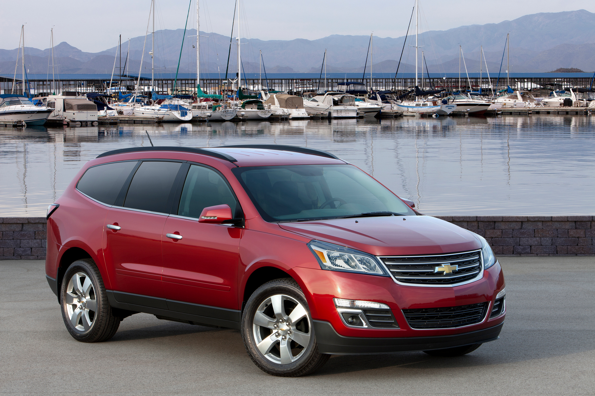 what does a chevy traverse look like