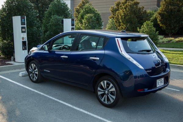 Nissan LEAF © Nissan Motor Co., Ltd.