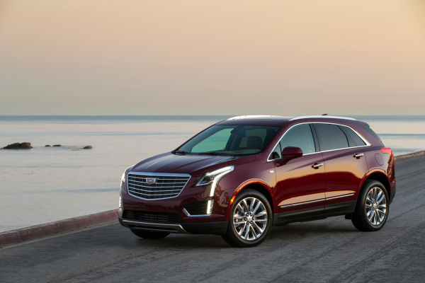 2017 Cadillac XT5 © General Motors