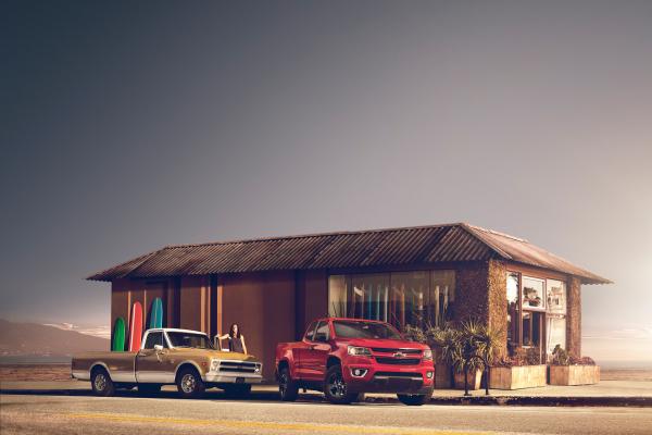 2017 Chevrolet Colorado © General Motors