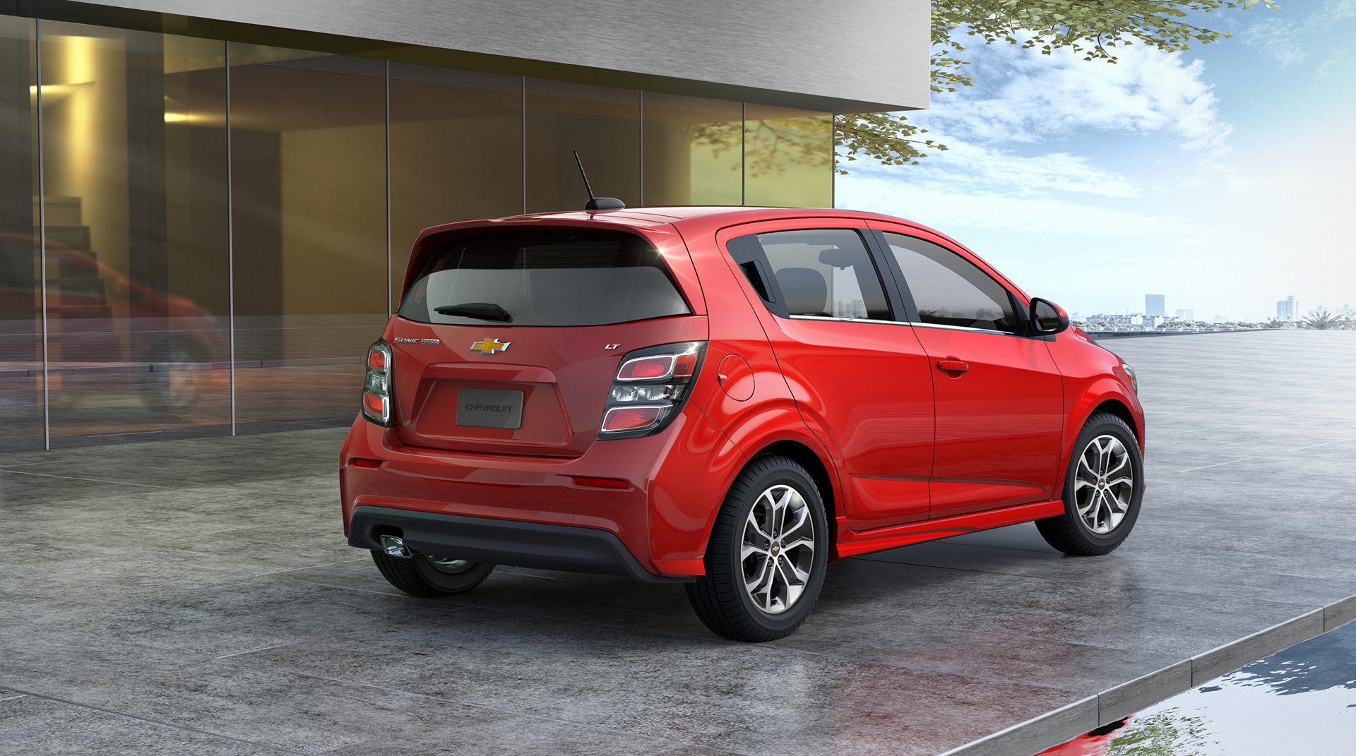 2017 Chevrolet Sonic © General Motors