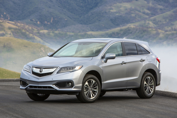 2017 Acura RDX © Honda Motor Co., Ltd.