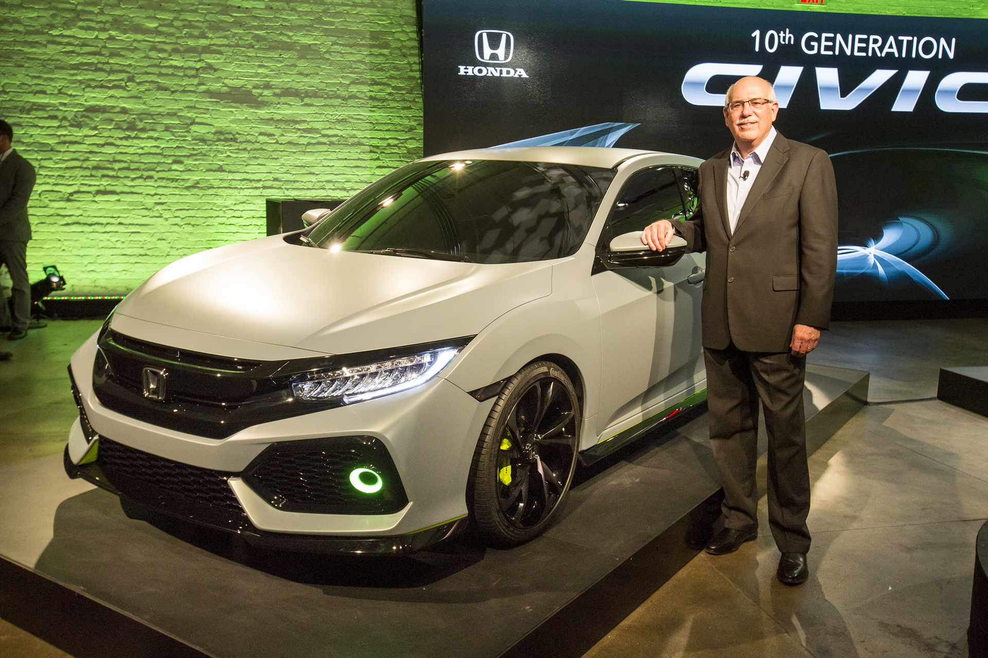 2017 Civic Hatchback Prototype © Honda Motor Co., Ltd.