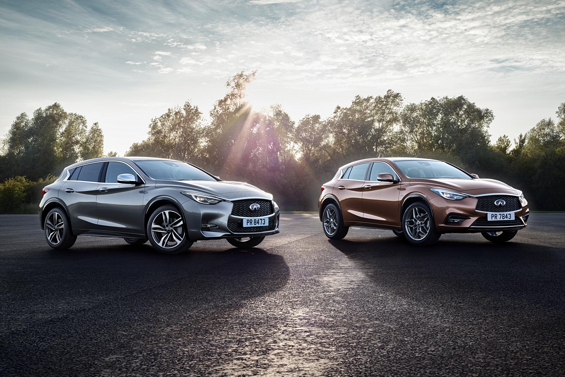 2017 Infiniti QX30 and QX30S © Nissan Motor Co., Ltd.